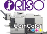 The RISO ComColor Printer can be run off-the-grid or with a solar-power UPS system.
