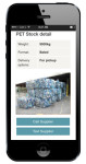 The App lists stock, providing details of colour, type and more!