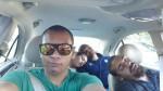 people carpooling
