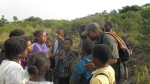 Baakens Valley Project - Ranger with local learners